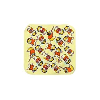 コロユキ5匹 Towel handkerchiefs