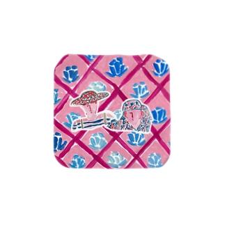 花柄夫婦 Towel handkerchiefs