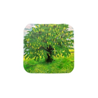 輝くような孤立するキングサリの木:Laburnum Tree in Splendid Isolation Towel handkerchiefs