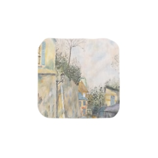 ユトリロの幻影: Mirage of Utrillo Towel handkerchiefs