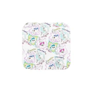 バレリーナ Towel handkerchiefs
