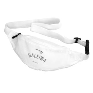 HALEIWA BLK LOGO Body Bag