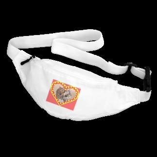 テル!のお店の逆さニャンコ(キッシュ) Body Bag