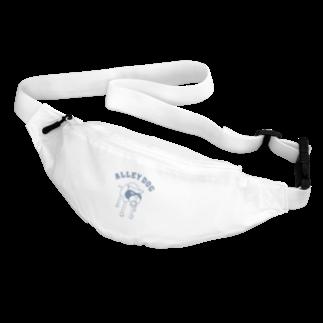 Aliviostaのアーリードッグ 犬 イラストアーチロゴ(B) Body Bag