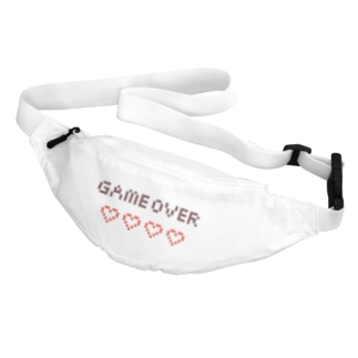 game  over Waist Pouch