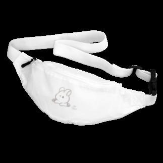 くぅもんせのお店のラフ画うさぎ Body Bag