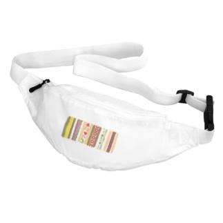 四角サンド並ぶ Belt Bag