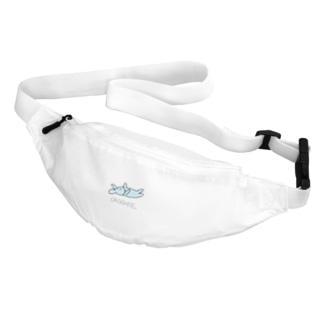 おこして。水色 Belt Bag