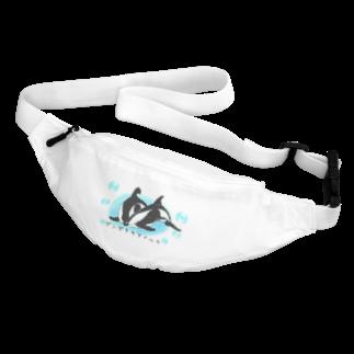 いるか屋 こすずのダンダラカマイルカ日本語バージョン Body Bag
