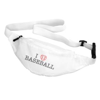 I LOVE BASEBALL Body Bag