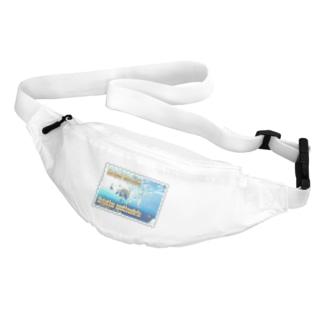 テングダイ★白地の製品だけご利用ください!! Striped boarfish★Recommend for white base products only !!  Belt Bag
