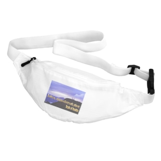 ギリシャ:スニオン岬のポセイドーン神殿 Greece:Temple of Poseidon at Cape Sounion Waist Pouch