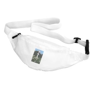 Dreamscape(天空の風)のホワイトガーデン Belt Bag