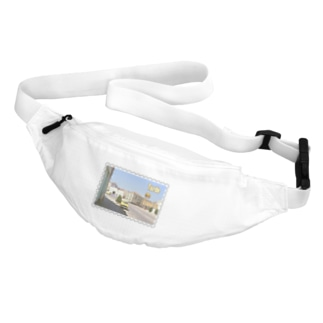FUCHSGOLDのスペイン:村の昼下がり★白地の製品だけご利用ください!! Spain: Afternoon of village★Recommend for white base products only !! Belt Bag