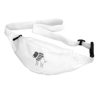 Aliviostaのスピードバッファロー 牛 動物イラスト Belt Bag