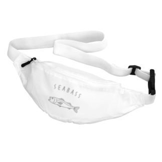 Aliviostaのシーバス スズキ ゆるい魚イラスト 釣り Body Bag