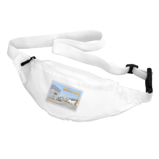 FUCHSGOLDのスペイン:村の昼下がり★白地の製品だけご利用ください!! Spain: Afternoon in village★Recommend for white base products only !! Waist Pouch