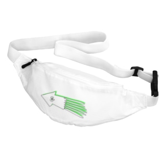 サイケな癒しのイカ Belt Bag