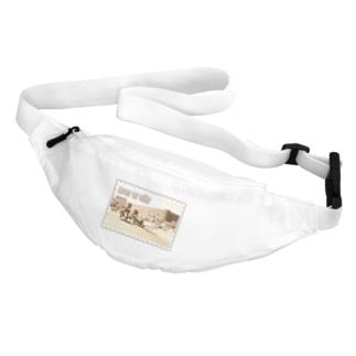 インド:アーグラ城砦★白地の製品だけご利用ください!! India: Agra Fort★Recommend for white base products only !! Belt Bag