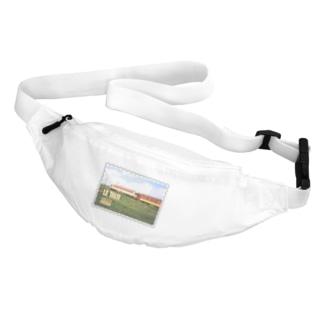 モロッコ:列車★白地の製品だけご利用ください!! Morocco: Train★Recommend for white base products only !! Belt Bag
