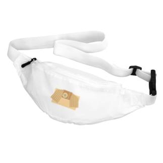 帯柄 オレンジ×ひまわり Belt Bag