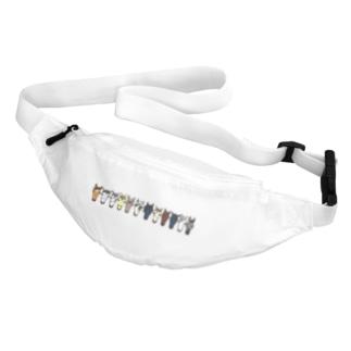 【うまかお】Favorite Horses Belt Bag