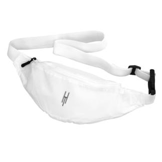 Tsubara Hayashi Official Logo 【White】 Belt Bag