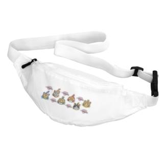 ハナピンク組 Belt Bag