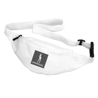 SHIRIGAL(黒ボックスロゴシリーズ) Belt Bag