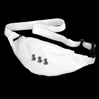アメリカンベースの愛犬 絵画 Body Bag