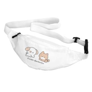 いぬとしばいぬ Belt Bag