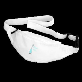 ウサネコのカクテル チャイナブルー Body Bag