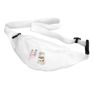 換毛期/キリッ(赤柴) Belt Bag