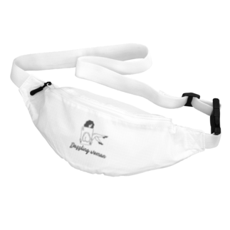 KUSUKUSU-COMPANYのDazzling woman Belt Bag