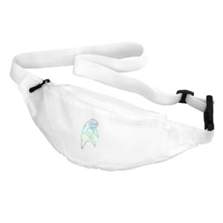 ぶらーんとナマケモノれいんぼー Belt Bag