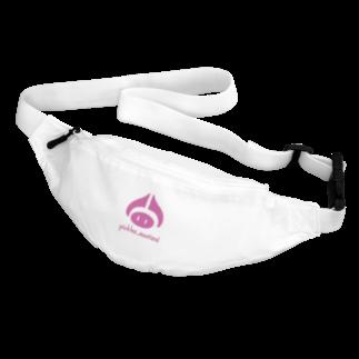 いわし のピクルス君ロゴ。ピンク。 Body Bag