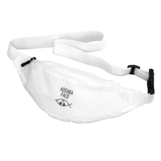 アオサバフェイス Belt Bag