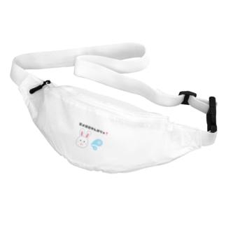 写メ日記がんばりゅ🐰💦 Belt Bag