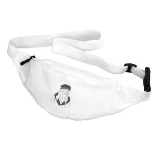 レオナルド・ダ・ヴィンチ イラスト Belt Bag