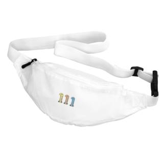 ニシキアナゴちゃんトリオ Belt Bag