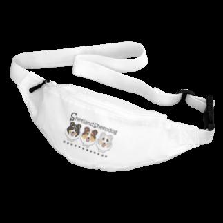 ABCDOGSのシェルティ3カラー Belt Bag
