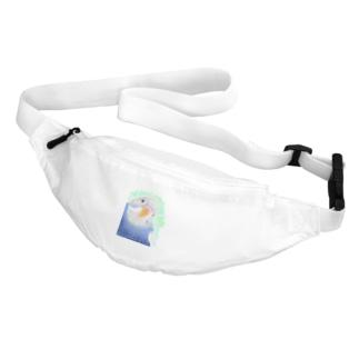 セキセイインコ オパーリン大【まめるりはことり】 Belt Bag