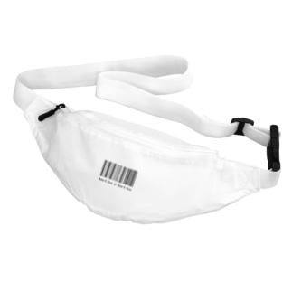 a fictional barcode Belt Bag