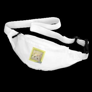 テル!のお店の逆さニャンコ(クッキー) Body Bag