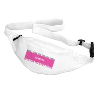 戒めTシャツ Belt Bag