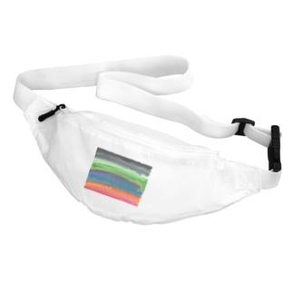 虹色 Belt Bag