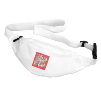 覗き見ニャンコ(みんな友達) Belt Bag