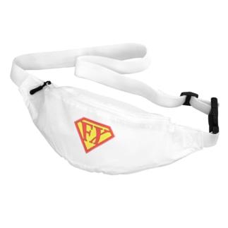 カマラオンテの「空を見ろ!」「鳥だ!」「飛行機だ!」「いや、エフエックスマンだ!」 FXマン スーパーマン パロディ ネタ 投資 トレーダー 外為 Belt Bag