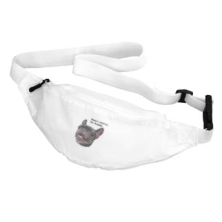 根拠なくポジティブな犬 Belt Bag