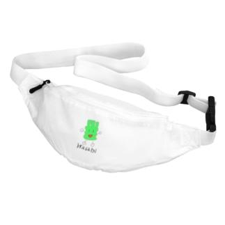 デカわさびくん Belt Bag